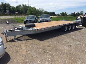 Equipment float, equipment trailer