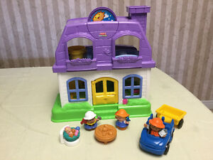 Fisher Price Happy Sounds Doll House