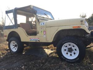 Original Paint 77 jeep CJ5 Survivor