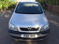 Family 7 Seater Vauxhall Zafira 2.0L DTI Car For Sale Mot-02-2017 Cheap Price Only £999 ONO
