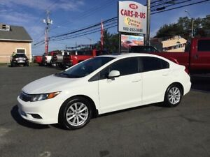 2012 Honda Civic LX Sedan 5-Speed Manual