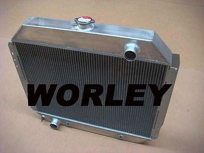 3 core aluminum radiator for FORD F100 F150 F250 F350 Bronco TRUCK