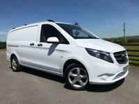 2016 66 MERCEDES-BENZ VITO 109 CDI EURO 6 LONG MANUFACTURERS WARRANTY REMAINING