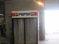 Pepsi Designed Refrigerator two sliding  doors