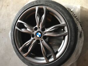 Rim and tire for sale 18inch 225 front 245 back