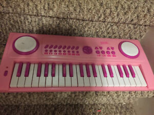 Keyboard and drums for kids