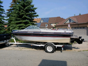 Oliver MK2000 - 20' Bowrider boat with trailer