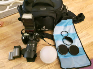 Nikon D90 with extras