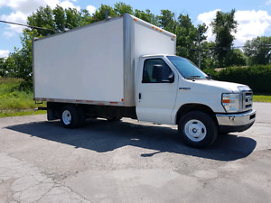 Cube ford E350 super duty