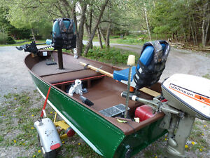 Fishing Boat, Motor and Trailer Package