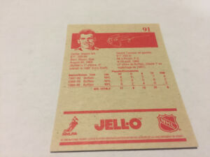 1990-1991 JELL-O (Jello)  PIERRE TURGEON All-Star NHL Card #91