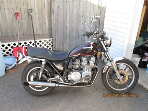 1981 KAWASAKI 750 LTD , JUST HAD A 732.00 DOLLAR SERVICE DONE