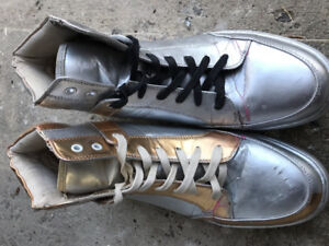 Asos boots (uniquely coloured silver and gold!)