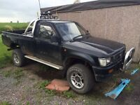 SWAP Toyota Hilux Pickup For Recovery / Trailer