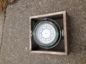 Old boat compass