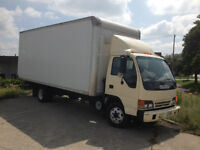 OWNER OPERATOR WITH 20 FT BOX TRUCK