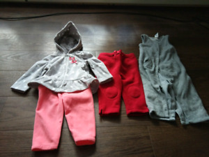 Baby fleece clothes 3-6 months