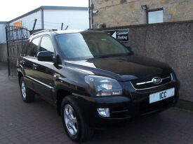08 58 REG KIA SPORTAGE 2.0 16V XR LTD EDN 5DR 4X4 LEATHER ALLOYS AIRCON F.S.H CD