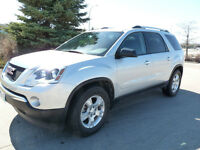 2012 GMC Acadia, back-up cam, parking sensors, power lift gate