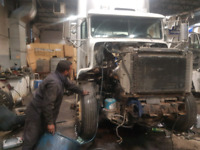 Diesel truck mechanic afternoon shift
