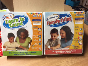 Hooked on Math & Hooked on Handwriting $45 for both