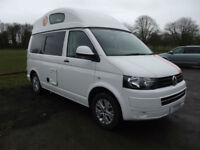 VW T5 CAMPERVAN LEISUREDRIVE HIGH TOP PROFESSIONAL CONVERSION