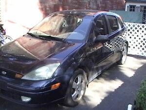 2003 Ford Focus ZX5 Hatchback Good Condition  850.00$