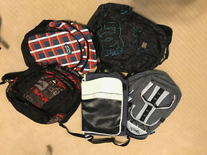 Assorted Bags and Backpacks