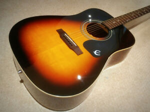 Epiphone DR100VS Acoustic Electric - $175