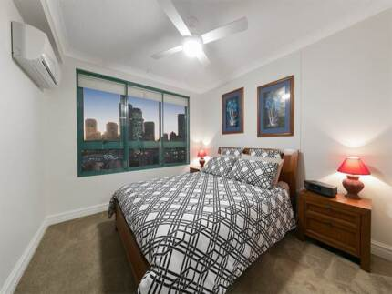 Queen Bed Latex Top Matress Solid Side Cabinets - Far Pavillions Kangaroo Point Brisbane South East Preview