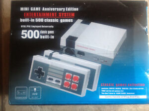 new in box built-in 500 classic games