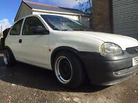 Vauxhall corsa b banded steel / steelie wheels euro dub c20xe c20let sri gsi gt gte 4x100