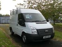 13 FORD TRANSIT 100 T280 SWB MEDIUM ROOF( FSH)