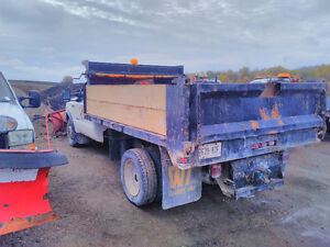 2000 Ford F550 Dump & Plow Truck Stratford Kitchener Area image 4