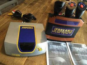Jeopardy dvd home game system