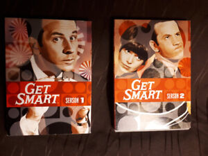 Get Smart TV shows DVD`s season 1 and 2