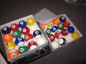 Billiard Balls - Traditional Sets ( Missing 8-Balls) - in Box Kitchener / Waterloo Kitchener Area image 5