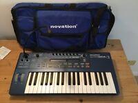 Novation ultranova synthesiser with gig bag AS NEW
