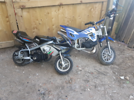 WANTED mini/midi/motor/moto quad/blata/dirt bike 50cc