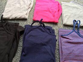 6 Gap camisole vest tops xs