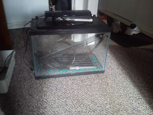Fish tank everything included! obo