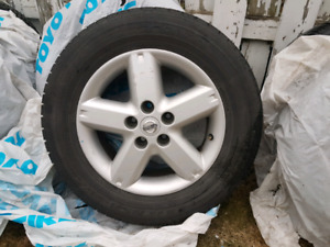 Roues mag Nissan extrail 2006