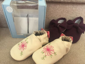 new robeez and moccasins 18-24 months