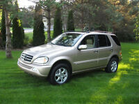 2005 Mercedes-Benz M-Class ML500 SPORT SUV, Crossover