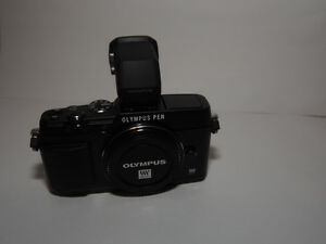 Olympus Pen E-P5 and Electronic Viewfinder VF-4
