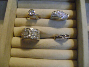 TAKE YOUR PICK OF BRAND NEW LADIES SIZE 6.5 RINGS IN ORILLIA