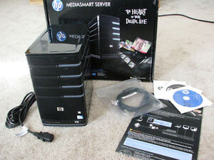 HP Mediasmart Server - No Drives, Original Box/Software