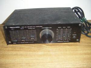 Vintage Realistic PA Amplifier