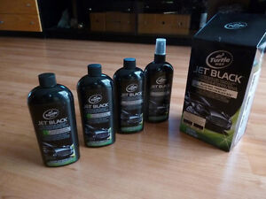 Jet Black Car Cleaning, Detailing and Waxing kit