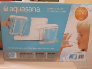 New Aquasana Powered Water Filtration System